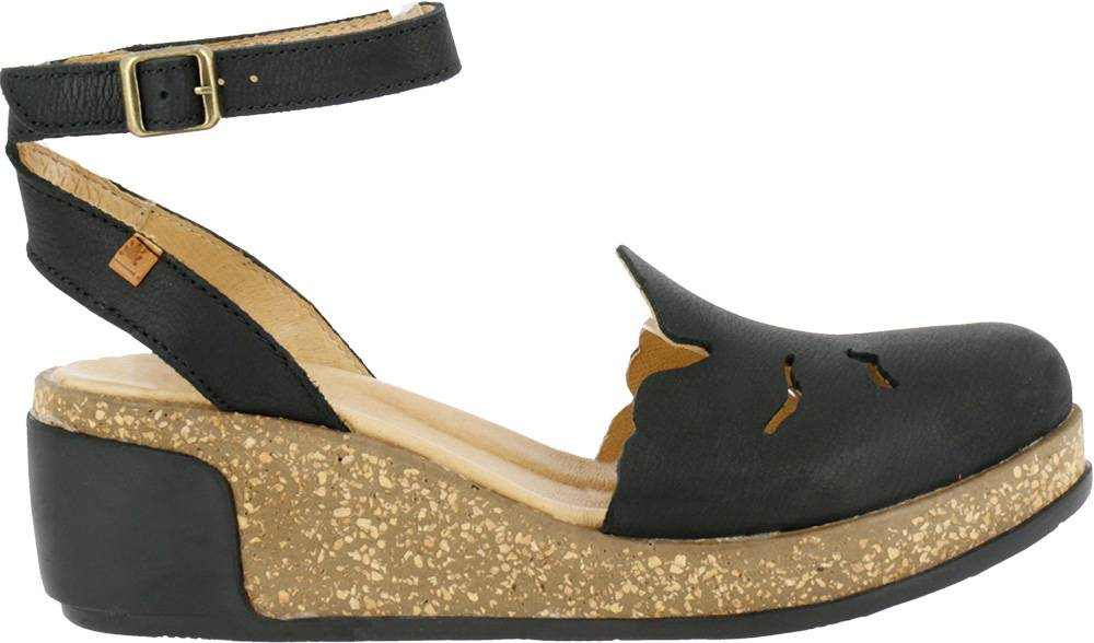 El Naturalista 5017 Women's Leaves Pleasant Wedge Sandals