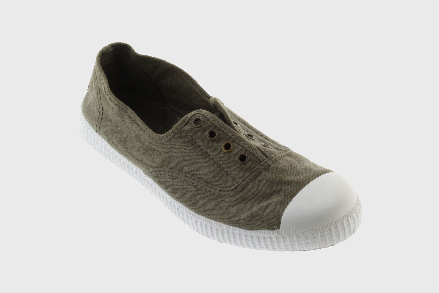 Victoria 1915 Women's English Washed Canvas No Laces