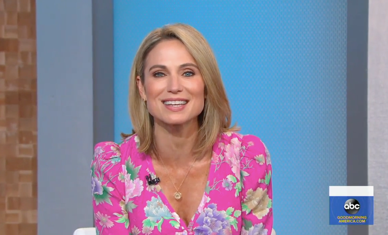 Amy Robach Earrings on GMA