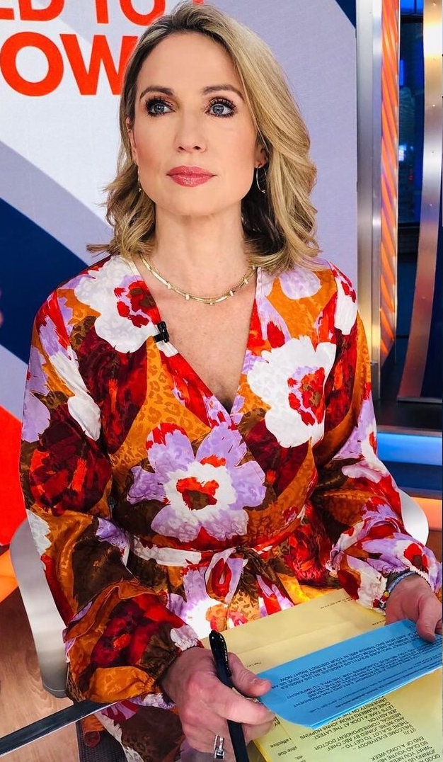 Amy Robach Jewelry on Good Morning America Live