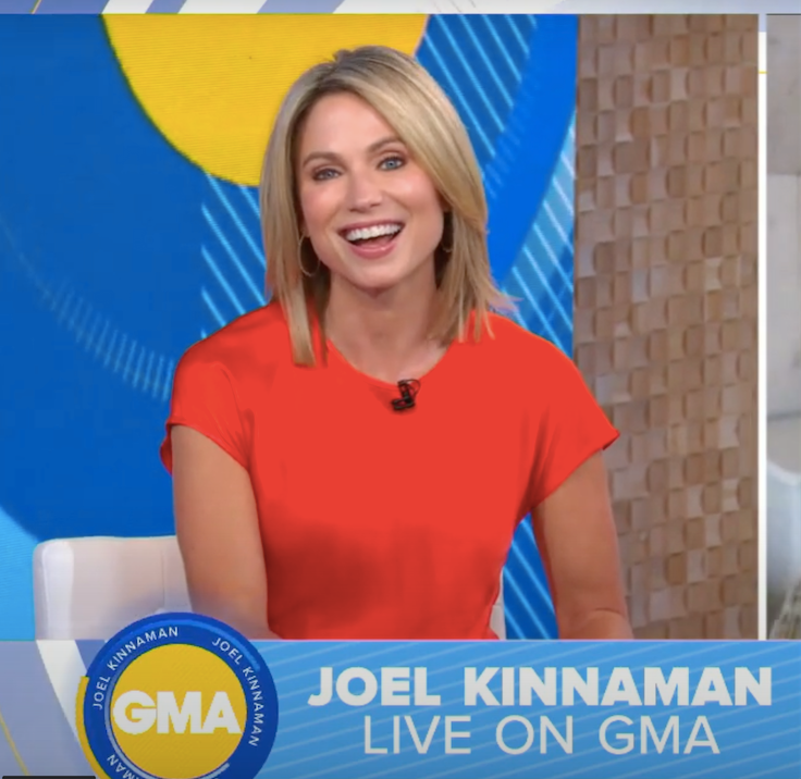 Amy Robach Studs on GMA