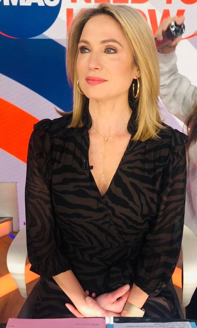 Amy Robach Hoops on Good Morning America