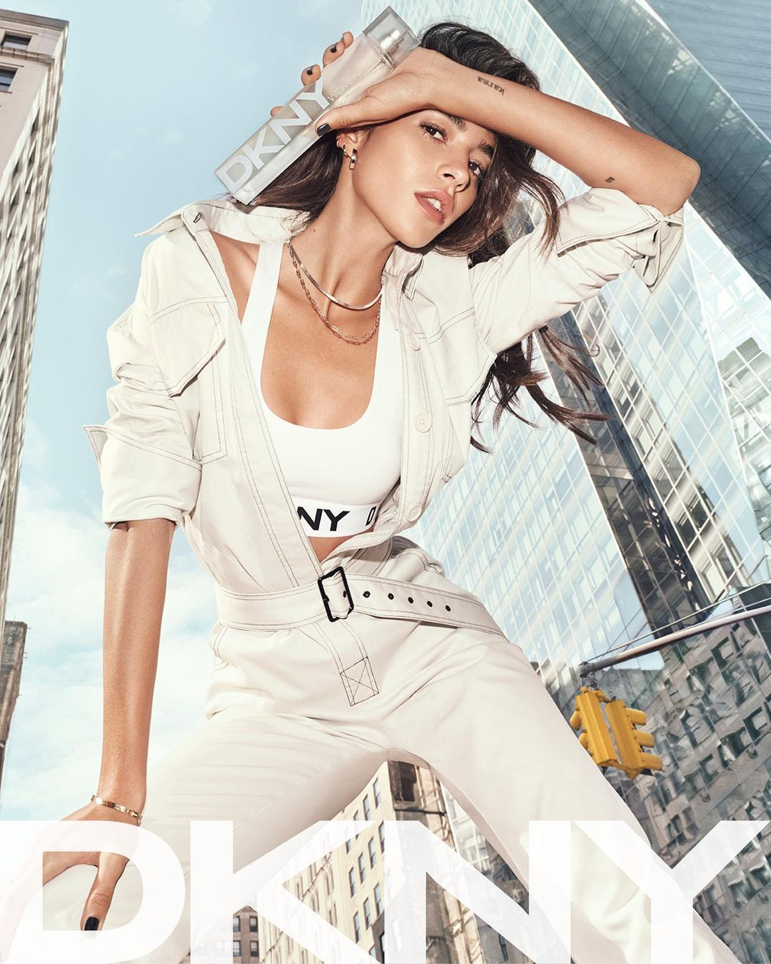 Gold Jewelry in DKNY Ad