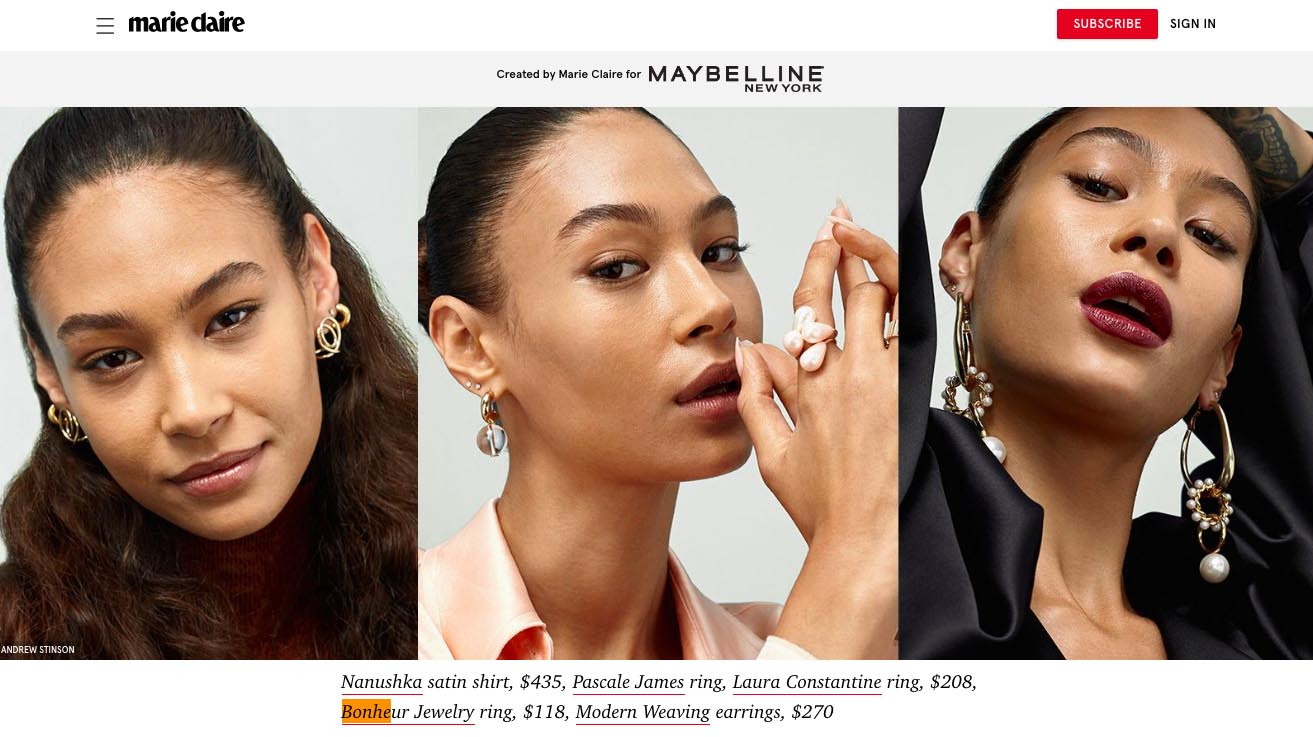 Pearl Ring on marieclaire.com