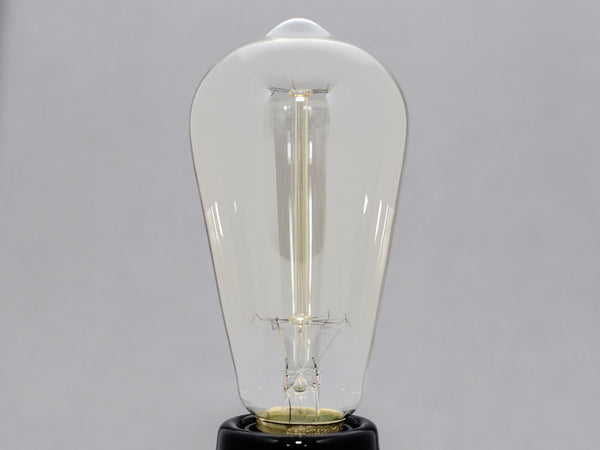 WILLIAM | Edison Kohlefaden Glühlampe | ø64mm 40W E27 (dimmbar)