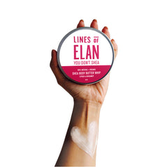 Organic Shea Citrus Body Butter, Lines of Elan