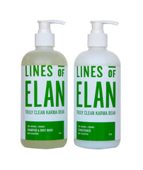 Truly Clean Karma Bean, Eucalyptus Mint, Natural Hair Care, Lines of Elan