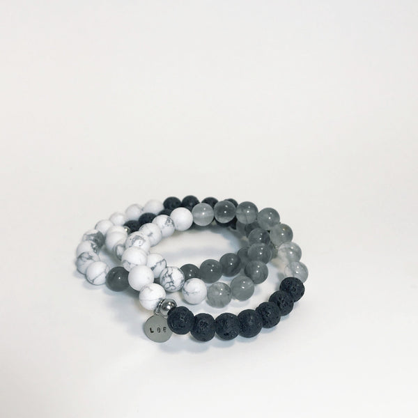 Shades of Grey Bracelet