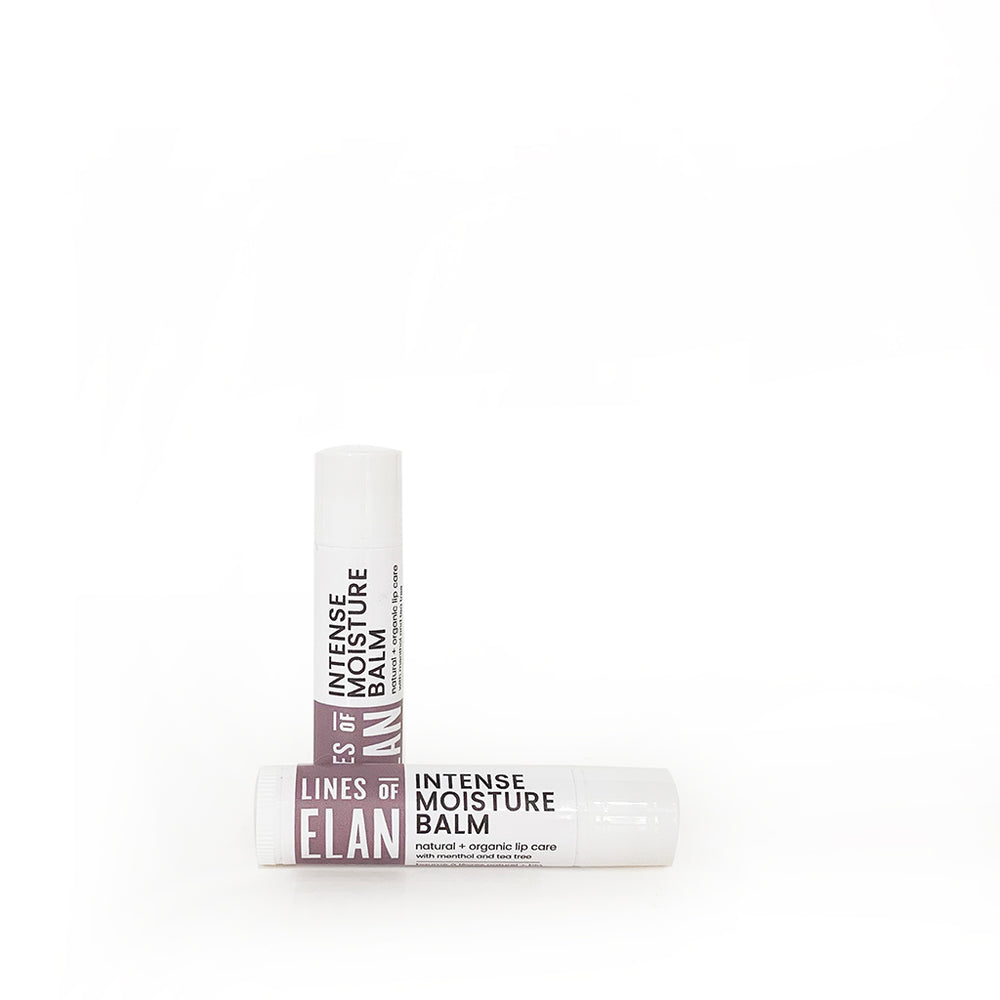 INTENSE MOISTURE LIP BALM | tea tree + geranium