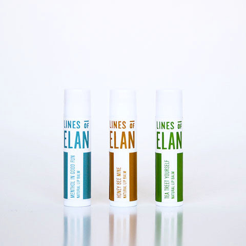 Lines of Elan, natural lip balm