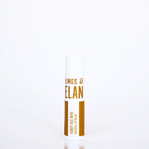 Lines of Elan, natural lip balm, honey