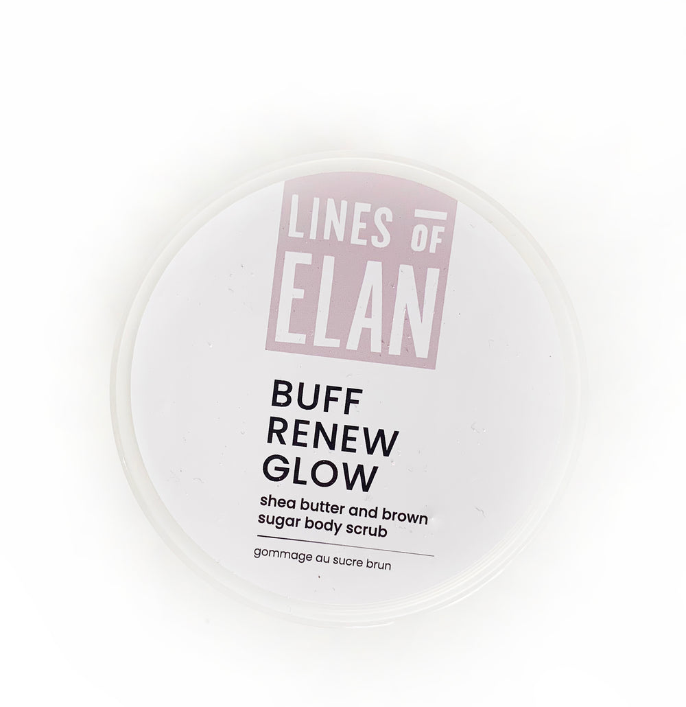 BUFF RENEW GLOW | Brown Sugar Body Scrub