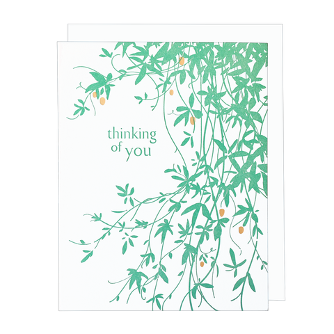 Vine Thinking of You Card