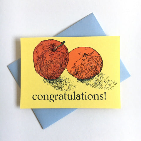 Fruity Congrats Card