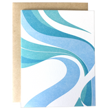 Fillmore Swirl Blank Card