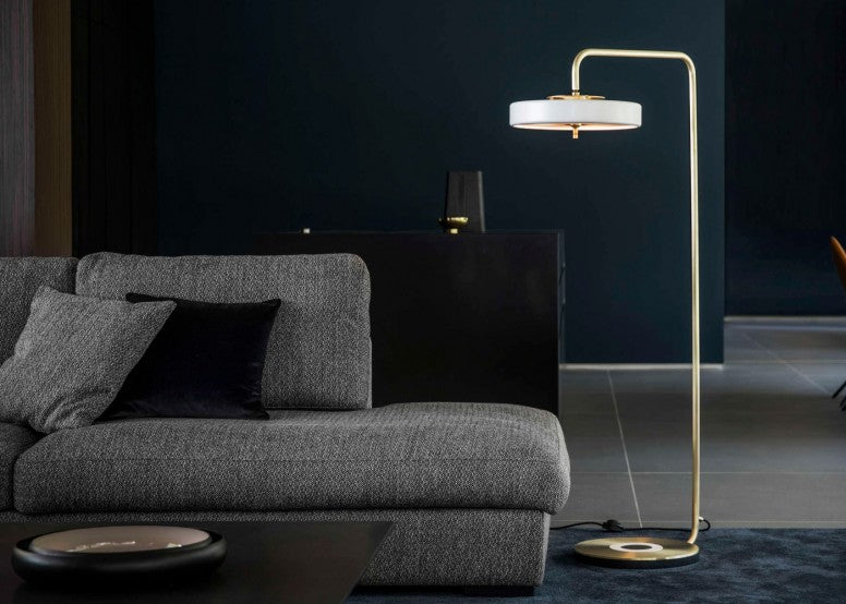 Replica Revolve Floor Lamp Black