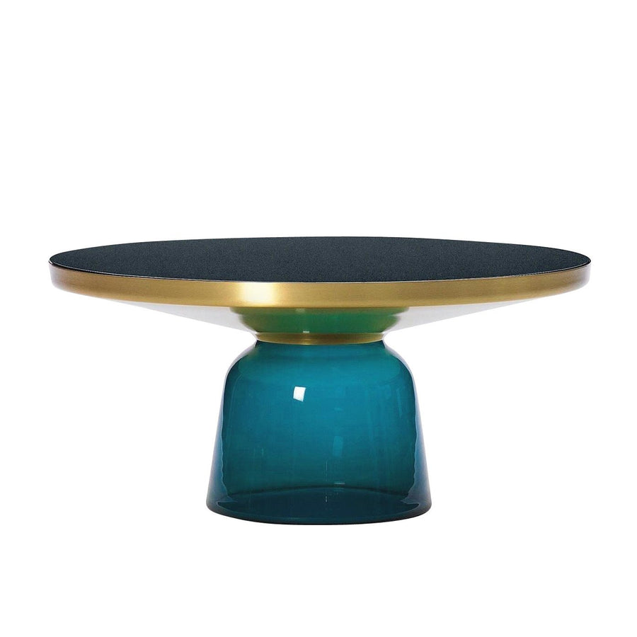 [TG] Replica Bell Coffee Table Brass Blue