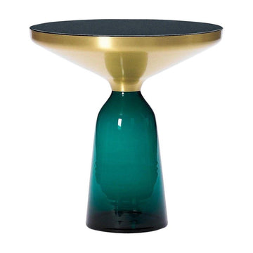 [TG] Replica Bell Side Table Brass Blue