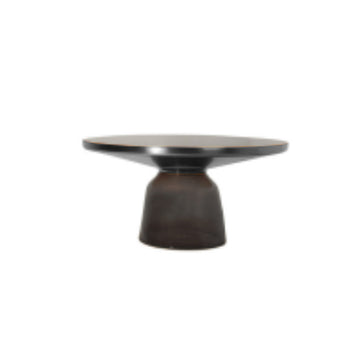 โต๊ะกลาง BV] Replica Bell Coffee Table Grey (Top Black)