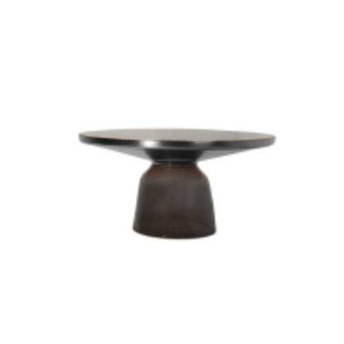 [BV] Replica Bell Coffee Table Grey (Top Black)