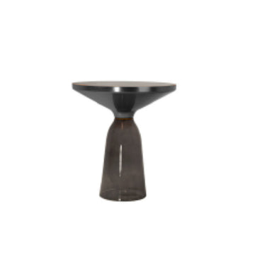 [BV] Replica Bell Side Table Grey (Top Black)