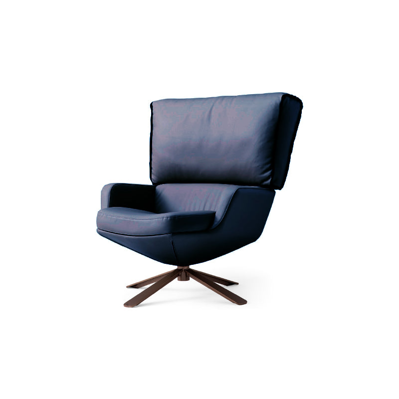 [GT] Benjamin Dark Blue Leisure Chair