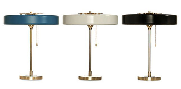 Replica Revolve Table Lamp Black