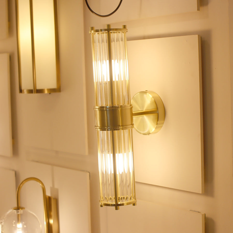 [DEFECT ITEMS] Cove Double Wall Lamp Matt Gold