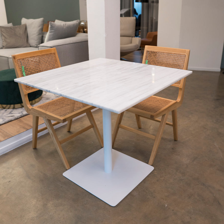 [VD] Erik 80 Bar Table White Outdoor