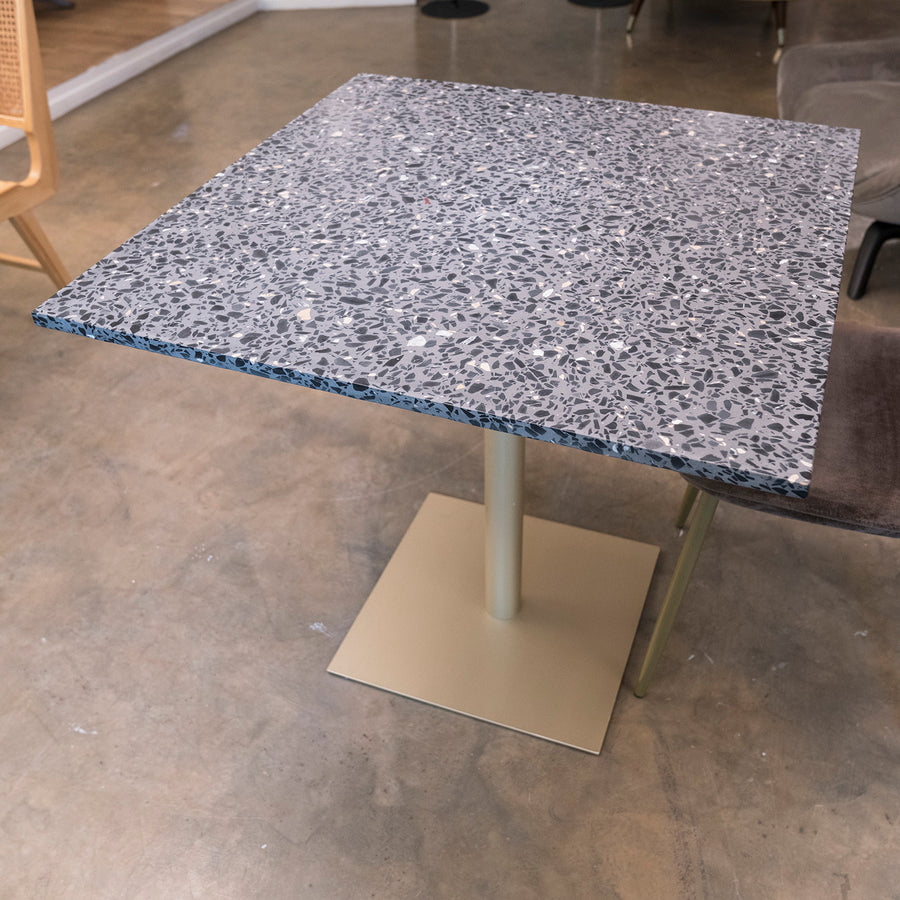 [VD] Erik 80 Bar Table Black Grey Outdoor