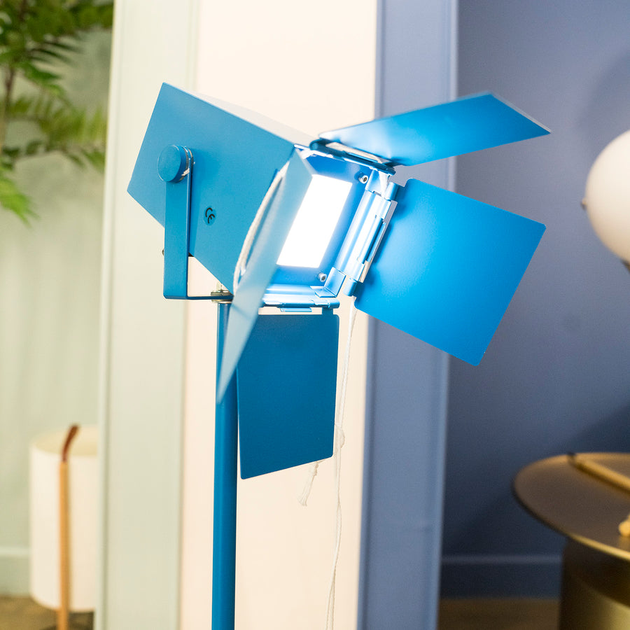 Replica Foto LED Table Lamp Blue