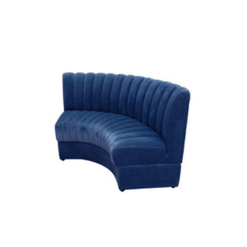 [AS] Restaurant Sofa No.1 L Dark Blue