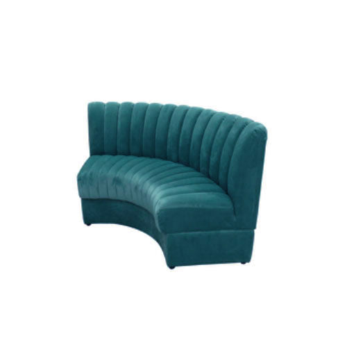 [AS] Restaurant Sofa No.1 L Peacock Blue