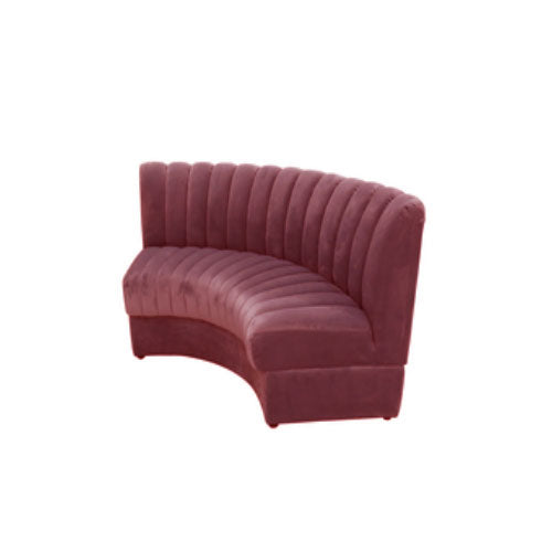 [AS] Restaurant Sofa No.1 L Rose Pink