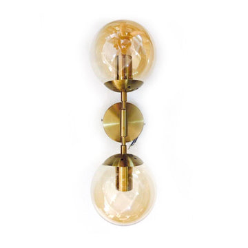 [DEFECT ITEMS] Double Globe Wall Lamp