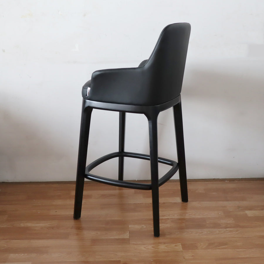 [SA] Ancil Bar Chair Black