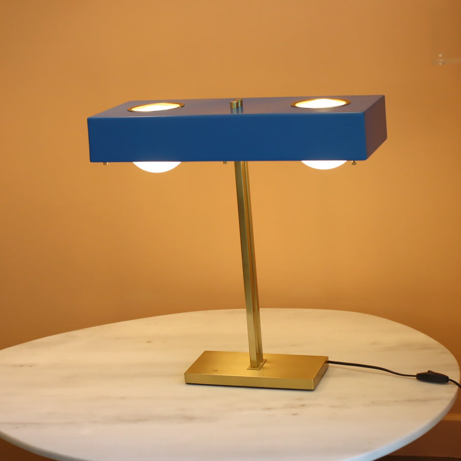 [DEFECT ITEMS] Replica Kernel Table Lamp Blue