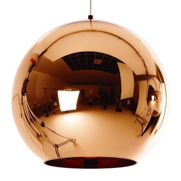 [DEFECT ITEMS] โคมไฟเพดาน Replica Mirror Ball 40 Copper