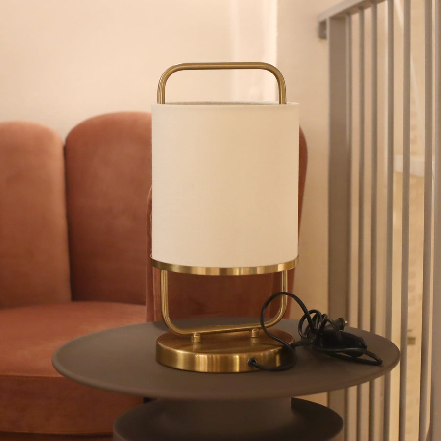 Leon 18 Table Lamp Coffee Bronze