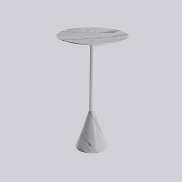 [BV] Logan 60 Side Table White