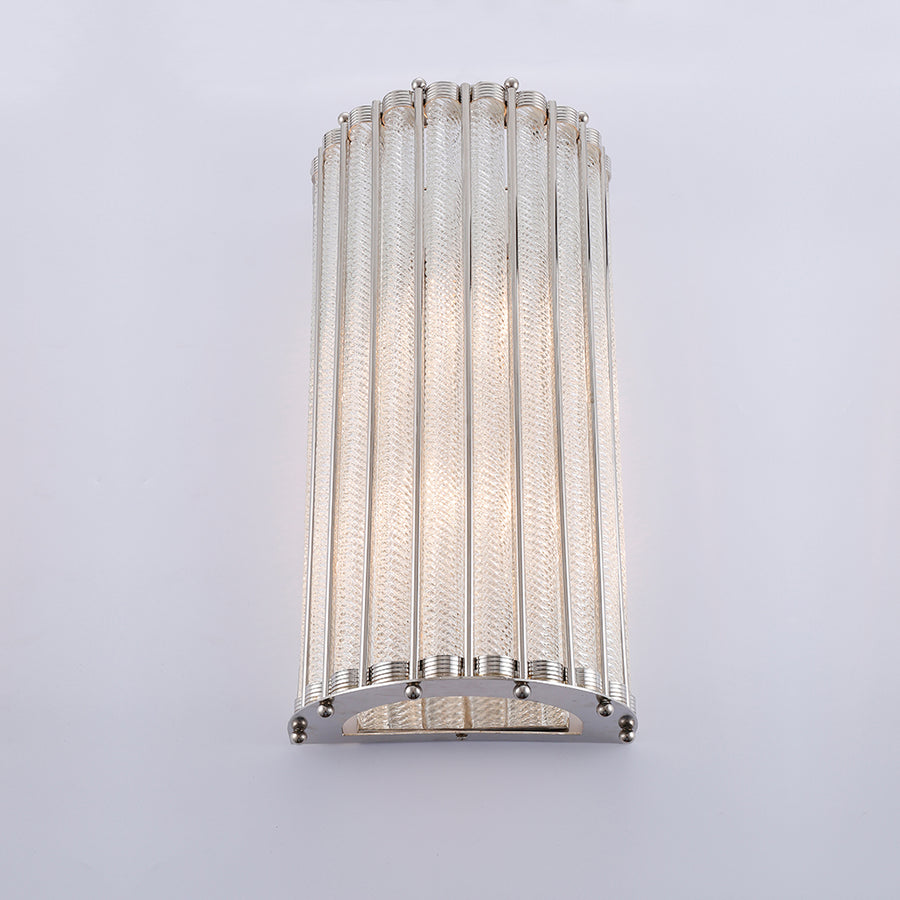 Tobias Wall Lamp Nickel