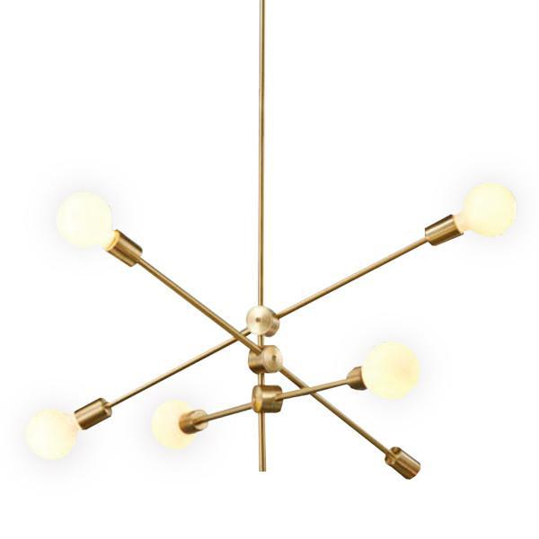 Replica Mobile Chandelier (Milky Bulb)