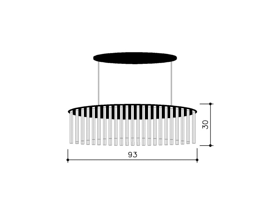 Replica Orgue 93 Pendant Lamp
