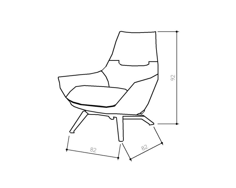 [SZ] Gloria Chair Orange