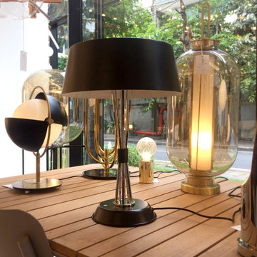 Avenue Table Lamp Black