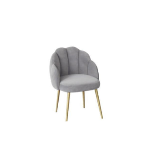 [DEFECT ITEMS] เก้าอี้ทานอาหาร [BH] Replica Scallop Dining Chair Grey