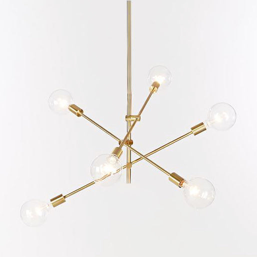 Replica Mobile Chandelier  (Clear Bulb)