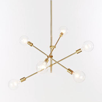 [DEFECT ITEMS] โคมไฟเพดาน Replica Mobile Chandelier (Clear Bulb)