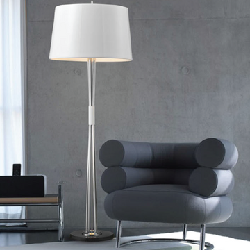 Avenue Floor Lamp White