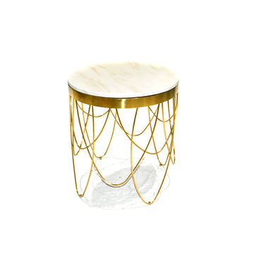 [TG] Vapor Gold Side Table